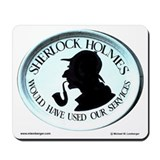 Sherlock holmes Mouse Pads