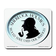 Sherlock Holmes Mousepad