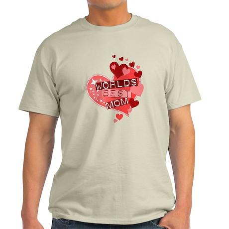 Worlds Best Mom Light T-Shirt