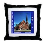 St. Patrick's Iowa City Throw Pillow