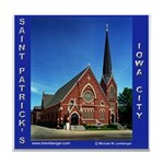 St. Patrick's Iowa City Tile Coaster