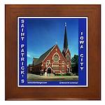St. Patrick's Iowa City Framed Tile