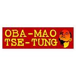 Oba-Mao Tse-Tung Bumper Sticker (10 pk)
