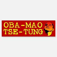 Oba-Mao Tse-Tung Bumper Bumper Bumper Sticker