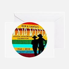 Bob & Santa's Golden Anniversary - Greeting Card