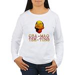 Oba-Mao Tse-Tung Women's Long Sleeve T-Shirt