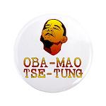 """Oba-Mao Tse-Tung 3.5"""" Button"""