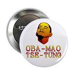 """Oba-Mao Tse-Tung 2.25"""" Button"""