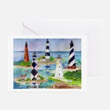 NC Light Houses Greeting Cards (Pk of 20)