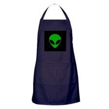 Cute Alien Apron (dark)