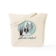 Border Collie Drive Tote Bag