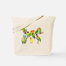 Lovebird Horde Tote Bag