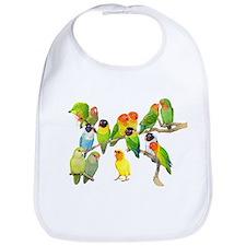 Lovebird Horde Bib