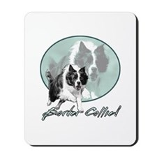 Border Collie Drive Mousepad