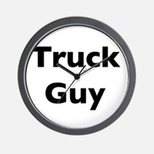 Truck Guy Wall Clock