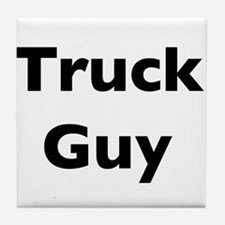 Truck Guy Tile Coaster