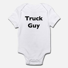 Truck Guy Infant Bodysuit