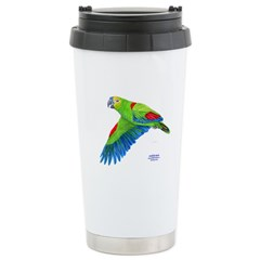 Flying Blue-fronted Amazon Travel Mug