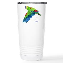 Flying Blue-fronted Amazon Travel Mug