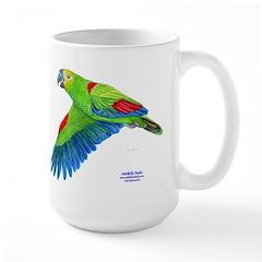 Flying Blue-fronted Amazon Large Mug