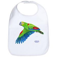 Flying Blue-fronted Amazon Bib