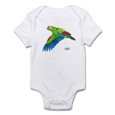 Flying Blue-fronted Amazon Infant Bodysuit