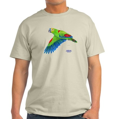 Flying Blue-fronted Amazon Light T-Shirt