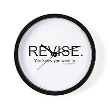 """Revise"" Wall Clock"