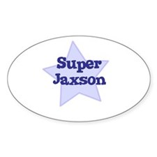 Super Jaxson Oval Decal