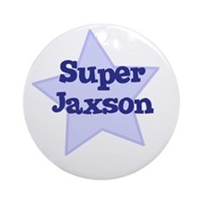 Super Jaxson Ornament (Round)