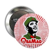 "ObaMao 2.25"" Button (10 pack)"