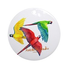 Macaws Ornament (Round)