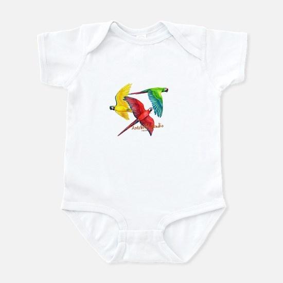 Macaws Infant Bodysuit