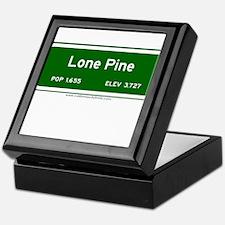 Lone Pine Keepsake Box