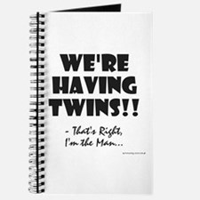 Cute Babies twins Journal