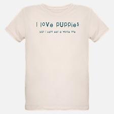 I Love Puppies T-Shirt
