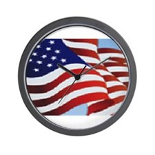 Funny Freedom flag Wall Clock