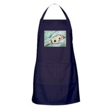 Napping Wire Fox Terrier Apron (dark)