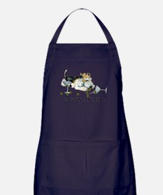 Fox Terrier Party Animal Apron (dark)