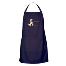 Wire Fox Terrier Dog Walk Apron (dark)