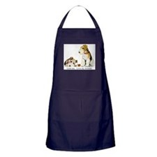 Love my TERRIERS! Apron (dark)