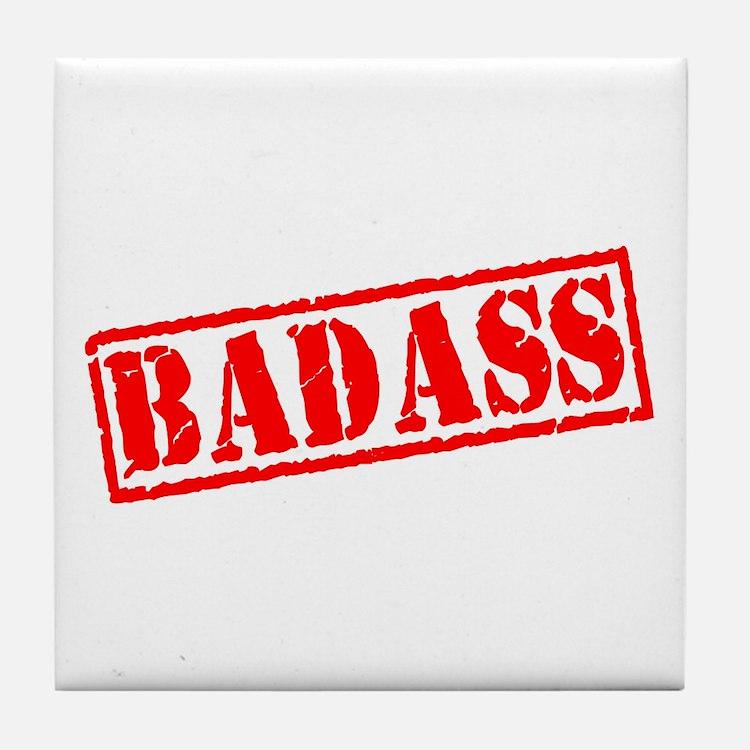 Badass Stamp Tile Coaster