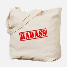 Badass Stamp Tote Bag