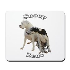 Snoop and Zeus Mousepad