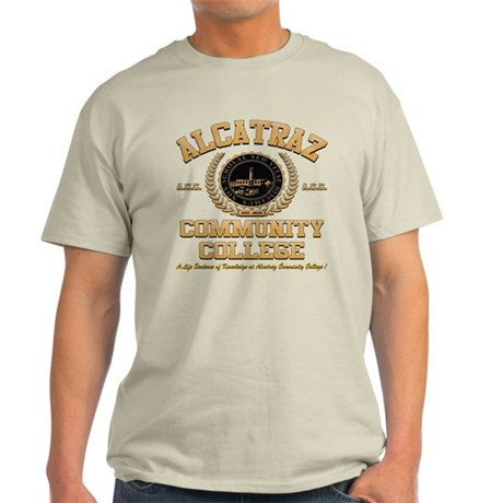 ALCATRAZ COMMUNITY COLLEGE Light T-Shirt