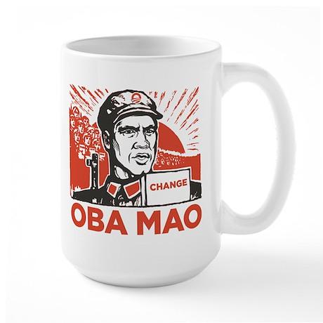 Oba mao Large Mug