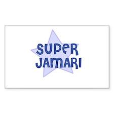 Super Jamari Rectangle Decal