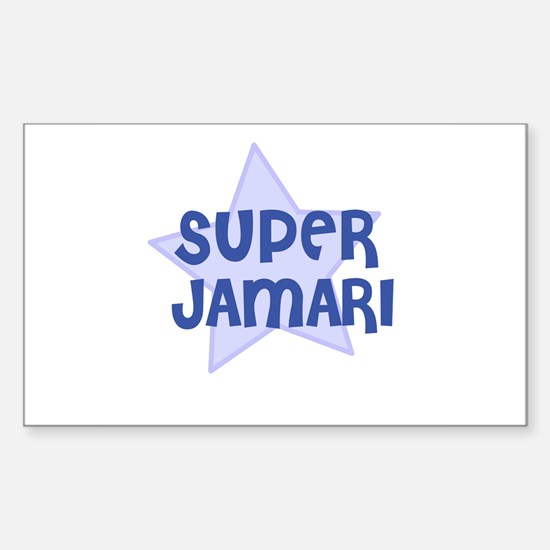 Super Jamari Rectangle Decal