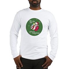 Santa Saw You Masturbate Long Sleeve T-Shirt