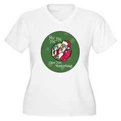 Santa Saw You Masturbate T-Shirt